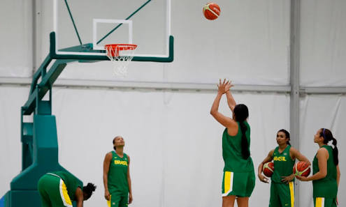 feminino basquete de brasileira Seleção