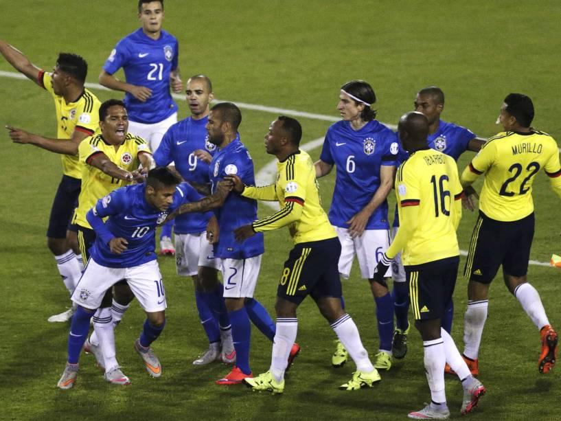 colombia x brasil