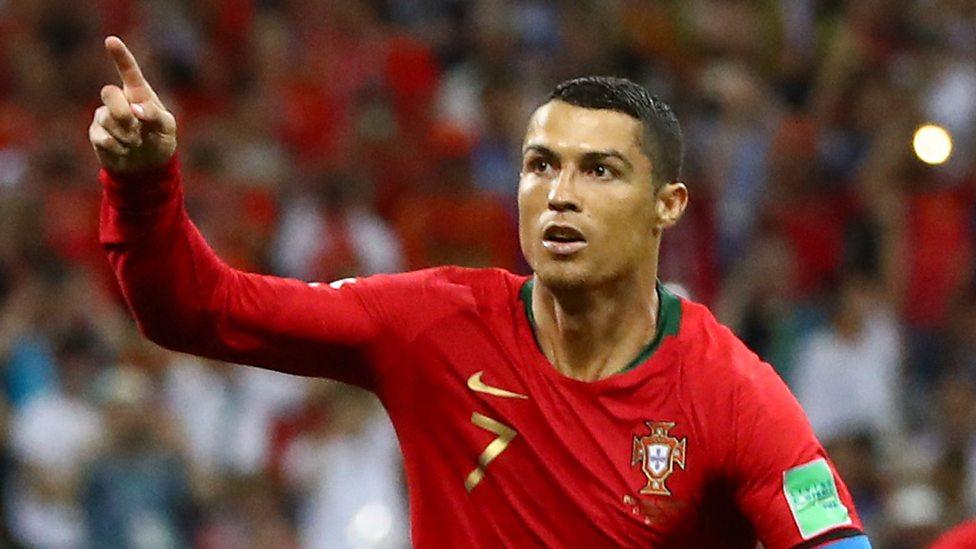 Cristiano Ronaldo - AFP Photo/Jonathan Nackstrand
